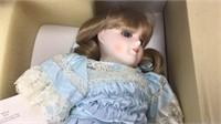 Gorham Porcelain Little Women Amy Doll