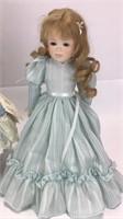 2 Dolls by Jerri / Nichole & Amy Porcelain Dolls