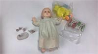 1989 Gerber Baby Doll + More