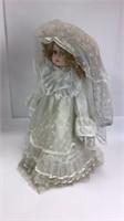 2 Nostalgic Doll Porcelain Bride Dolls (1982)