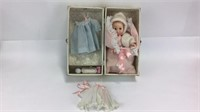 Doll in Box w/ Doll Clothes +