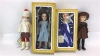 4 Vintage Effanbee Dolls
