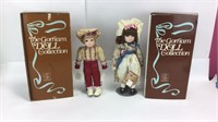 2 Gorham Musical Porcelain Dolls