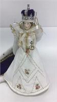 Queen Elizabeth II Replica of First Nesbet Doll
