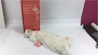 Gorham Apricot Dress Rockabye Baby Doll