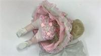 "Marie Osmond Queen Elizabeth Rose Bud Doll 8"" H"