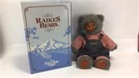 """Raikes Bears Hucklebear w/Box 20"""" H"""