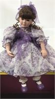 """Marie Osmond 2005 Porcelain Doll 23"""" H"""