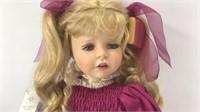 "Marie Osmond ""Helena"" Doll 2000 25"" H"