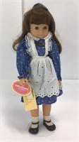 "Gotz Modell 18"" H Doll on Stand"