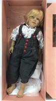 """Kasimir"" Doll by Annette Himstedt 1146 - 29"" H"