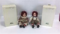 Seymour Mann Raggedy Ann & Andy Dolls