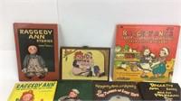 10+ Vintage Raggedy Ann & Andy Books