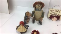 Raggedy Ann & Andy Plushes / Figurines +