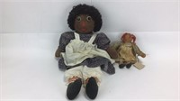 African American & Brown Haired Raggedy Ann +