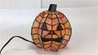 Celebrate Halloween Stained Glass Jack-O-Lantern