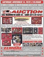 ARROWHEAD SELL-OUT - 10K+ ROCKS - RELICS - ARTIFACTS