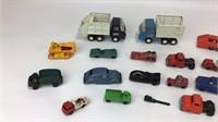Mixed Lot Tonka Die Cast Trucks & More
