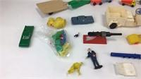 Mixed Lot Plastic Farm Toys & More