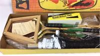 VTG Regent Badminton & Spaulding Croquet Sets