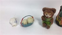 Mixed Plastic Toys, Native American Drum & More