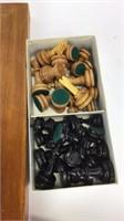 Cool Woode Chess & Backgammon Set
