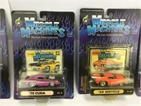 10 Muscle Machines Cars Unopened