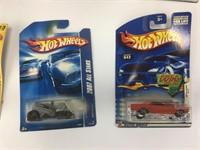 2 Matchbox & 20+ Hot Wheels Cars Unopened