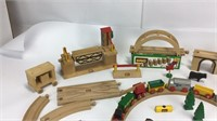 Large Lot Brio Wood Train Set