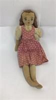 8 Vintage Dolls Cloth & Composite