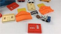 Rare Mattel My First Wheels City Carry Case