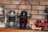Old Railroad Lanterns