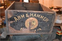 Arm & Hammer Wooden Boxes