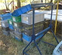 rack and crates