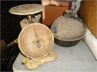 Scale & smudge pot