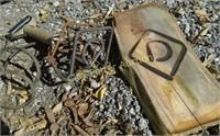 Electric branding iron