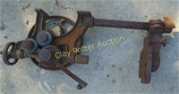 Antique iron tool