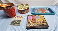 Toys, Christmas Decorations, Antiques, and More