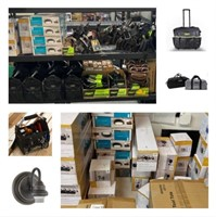 December Auction: Toolbags, Lighting, Electronics, and More!
