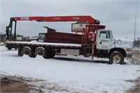 Online Auction of Boom Truck in Brainerd MN
