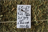 Hay, Bedding, Firewood #53 (12/30/2020)