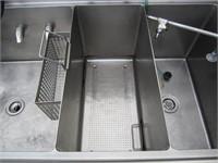 Metcraft Power Soak Stainless Sink (No Ship)
