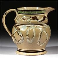 Rare mocha pitcher