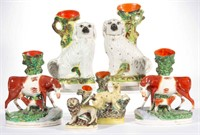 From the Dunn collection of Staffordshire figures