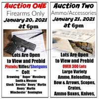Legendary Gun Auction - Inauguration Day