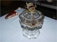(1) OIL LAMP & (1) BASE