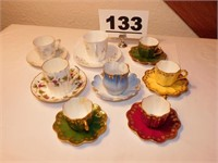 SMALLER SIZE CUPS & SAUCERS