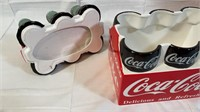 Coca-Cola Ceramic Six-Pack Cookie Jar
