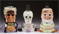 Rare bisque figural night lights from the Bennett collecition