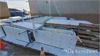Large Quantity of Metal Desks & Metal Beds-BULK BID OFFERING
